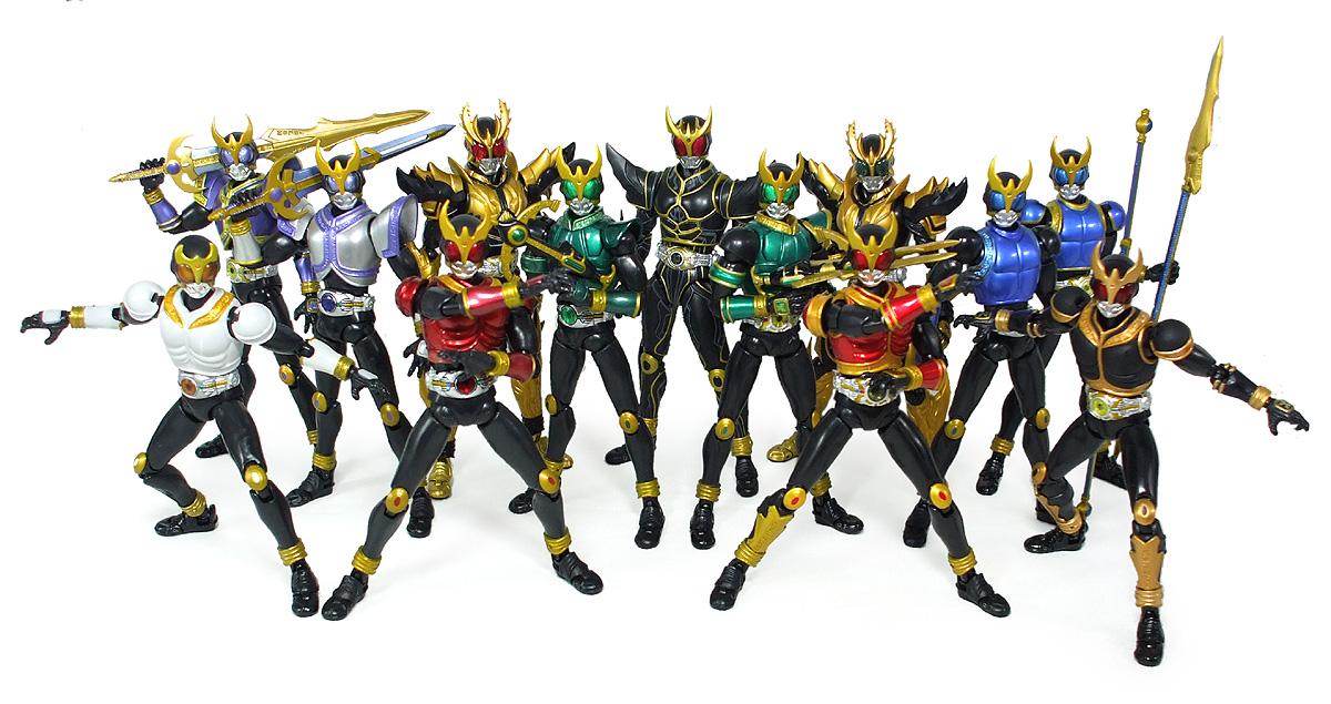 第60回 ■ バンダイ S.H.フィギュアーツ「仮面ライダークウガ・ライジングフォーム」1